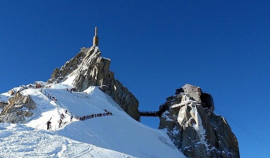 Aiguille du Midi Arete